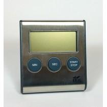 Cronómetro digital acero inox