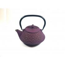 Tetera Hierro fundido púrpura 0.8L