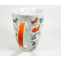 Mug gatos Cha Cult