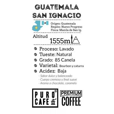 Guatemala San Ignacio grano