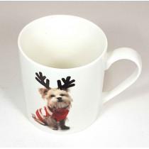 Taza navidad perro