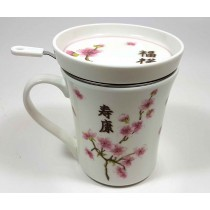 Taza 3pc cerezo japones