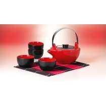 juego de té Hokai 4 tazas