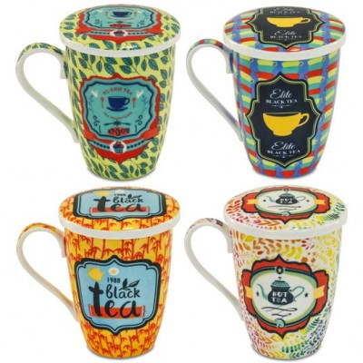 Taza 3pc Tea time