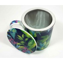 Taza 3pc Tropical Azul