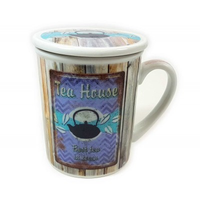 Taza 3pc Tea house