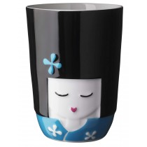 Taza doble pared Kokeshi