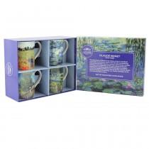 Caja regalo 4 tazas Impresionistas