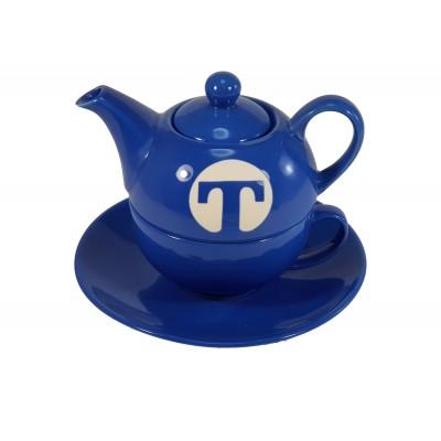 Tea for one con plato colores