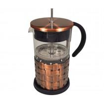 Cafetera émbolo cobre 1L