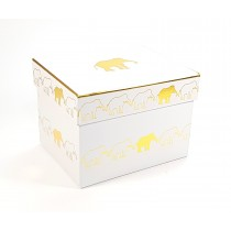 Taza elefantes con caja