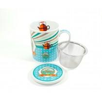 Taza 3pc Fine tea