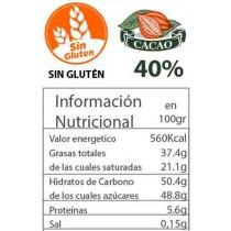 Chocolate con leche 40% florentino