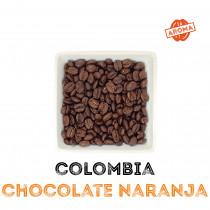 Café Chocolate Naranja